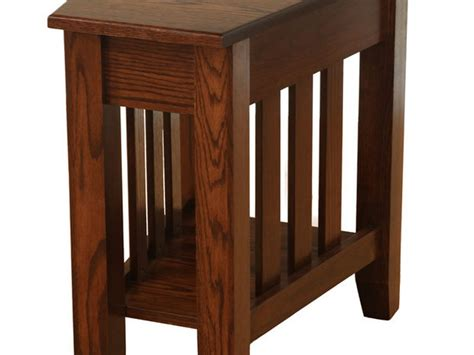 wedge shape end table triangle shaped end table free mid century danish modern