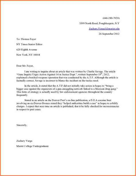 Letter To Your 6 Letter To Editor Budget Template Letter
