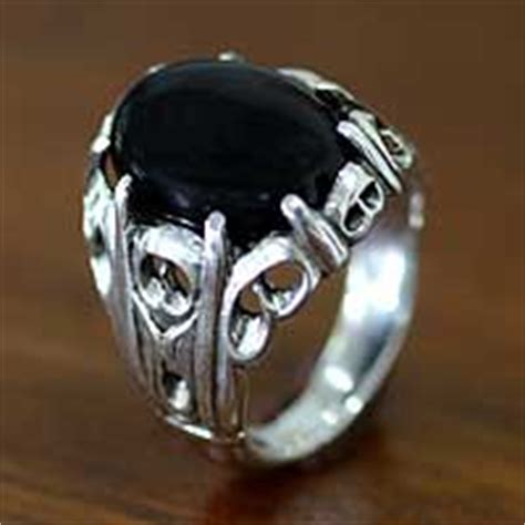 Handmade Mens Rings Uk - mens silver rings sterling silver rings for at novica