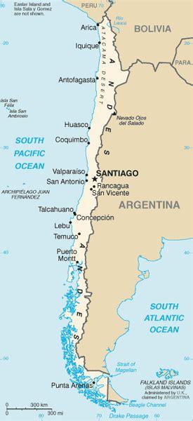 south america map desert atacama desert chile with luxury style 6 days maps