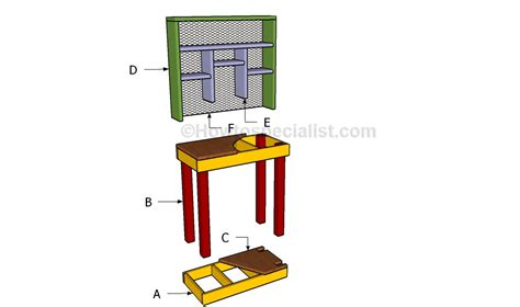 how to make a reloading bench how to build a reloading bench howtospecialist how to build step by step diy plans