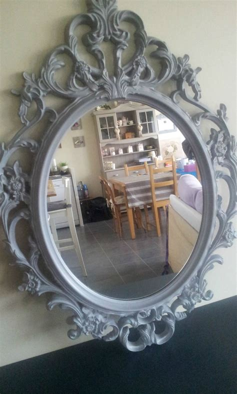 Miroir Baroque Gris by Miroir Baroque Gris Voil 233 83cmx59cm 50 Euros Vendu
