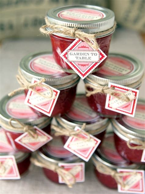 Handmade Jam - 25 low cost however handmade bridal shower favors