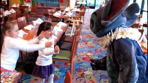 Pch Grill - stitch goes crazy at breakfast disney s pch grill at disney s paradise pier hotel