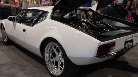Cool Garage Designs this ecoboost swapped de tomaso pantera is basically a