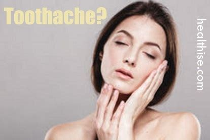 toothache home remedies healthise com