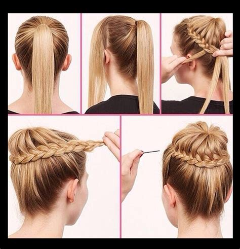 hair style step by step pic step by step easy hair style tutorials trusper