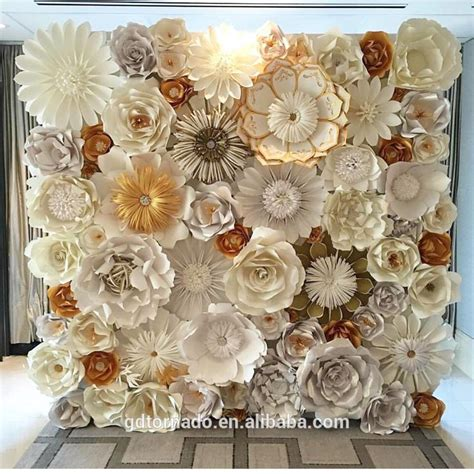 large paper flowers backdrop giant paper flowers