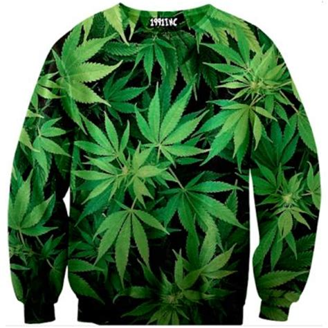 Hoodie Sweater Smoke Cannabis 1991inc 65 sweater quot 420 quot clothing