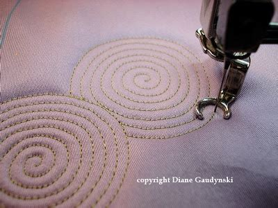 quilting tutorial with diane gaudynski 17 best images about machine quilting on pinterest