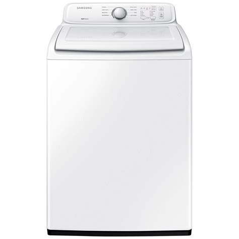 Samsung Washer Samsung 4 0 Cu Ft Top Load Washer In White Non Energy Wa40j3000aw The Home Depot
