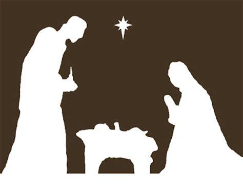 printable nativity scene silhouette kinzie s kreations nativity free printable