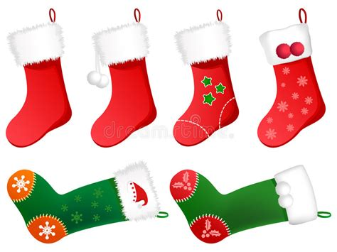 cute stockings cute christmas stockings stock photo image 3580070