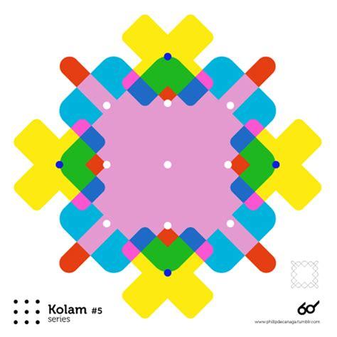 grid pattern indus tagalog kolam series on behance