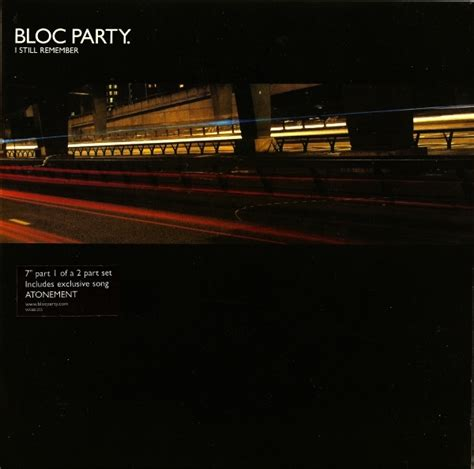 i still remember bloc party bloc party i still remember records lps vinyl and cds
