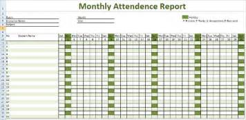 Tracking Report Template attendance tracking template 10 free word excel pdf documents