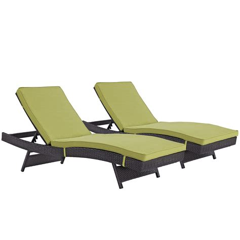 chaise set convene chaise outdoor patio set of 2