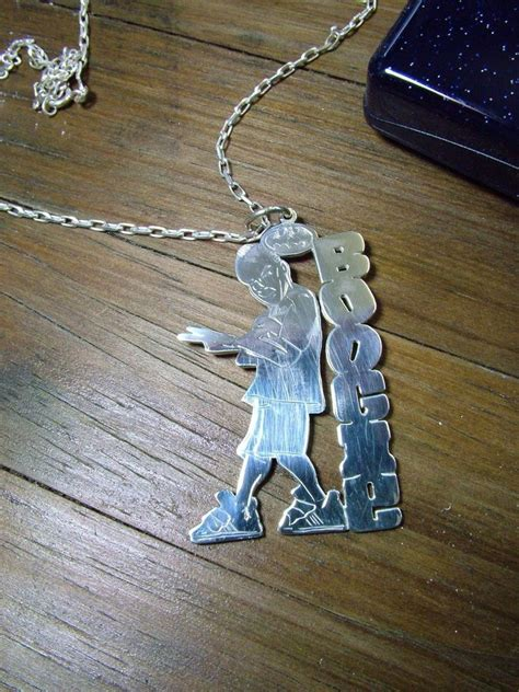 hip hop custom silver pendant by shaun750 on deviantart