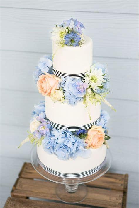 Cornflower Blue & Peach   A Very Sweet Summer Wedding