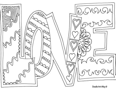 love coloring pages for adults love adult coloring page embroidery pattern