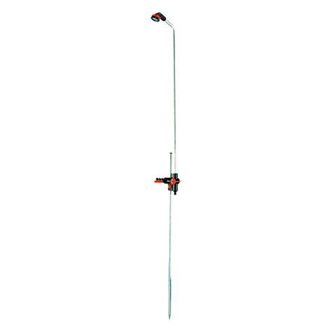 bauhaus gartendusche gardena gartendusche duo h 246 he 207 cm aluminium