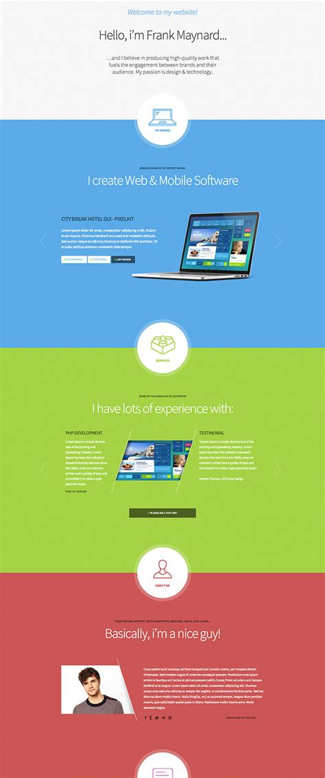 themes within education one page resume wp theme sle list education on action