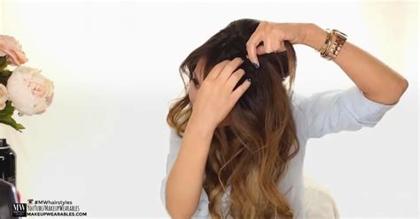 How To Use Hairstyle Tools On Tv by 4 Easy Hairstyles For Greasy Hair With Voloom