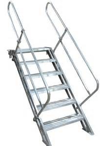 removable aluminum stairways metallic ladder manufacturing corp