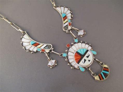 how to make inlay jewelry zuni inlay necklace by don velma dewa zuni jewelry