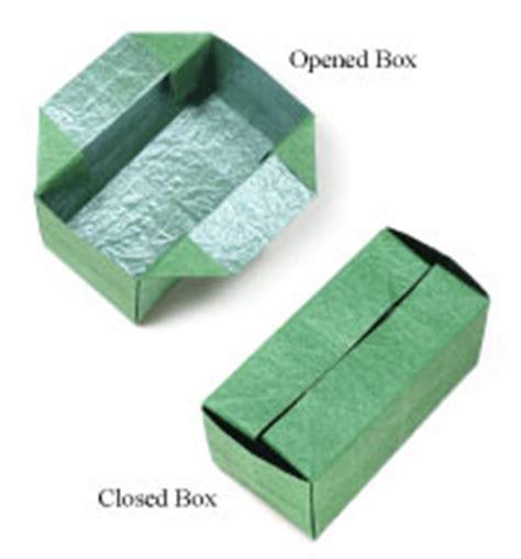 Rectangular Origami Box - how to make origami box
