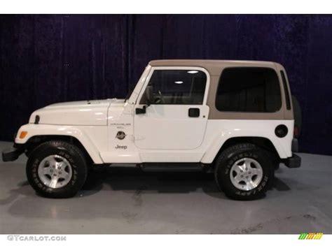 white jeep sahara interior 2000 stone white jeep wrangler sahara 4x4 21236359 photo