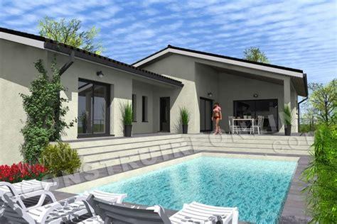 Plan Maison Carrée 4378 by Vente De Plan De Maison