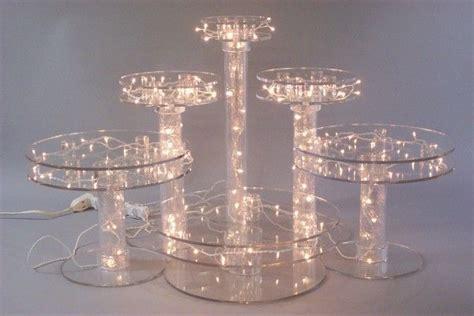 cupcake stand with led lights light up cake stand oneworld memorials light up pedestal