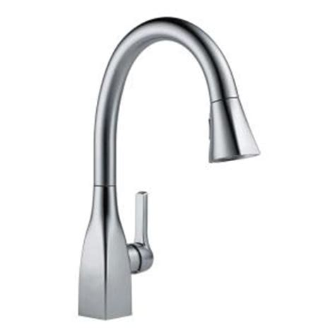 delta leland arctic stainless finish pull down sprayer kitchen faucet 610451 ebay delta mateo single handle pull down sprayer kitchen faucet