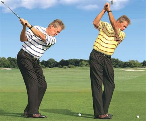 golf proper swing the fat slice of steepness golfeneur