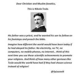 Was Nikola Tesla An Atheist