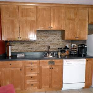 Stone Veneer Kitchen Backsplash by Stone Veneer Backsplash Submited Images