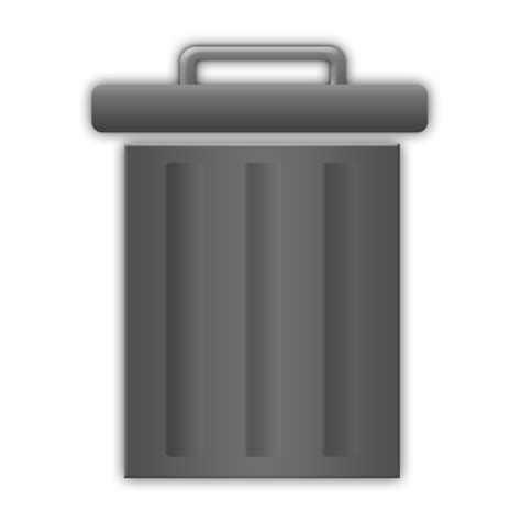 empty trash on android trash icons free trash icon iconhot