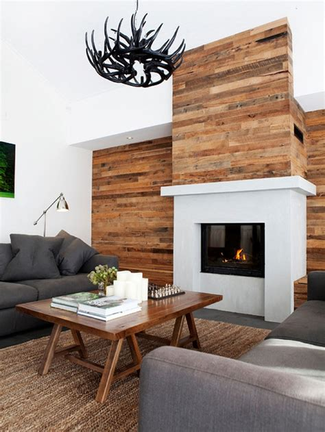 feature wall ideas living room with fireplace pallet wall cladding pallet ideas recycled upcycled