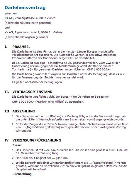 Vorlage Word Darlehensvertrag Muster Darlehensvertrag Rechtssichere Vorlage Zum
