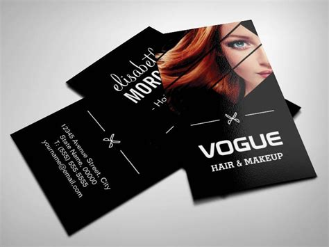 Cool Hair Stylist Business Cards