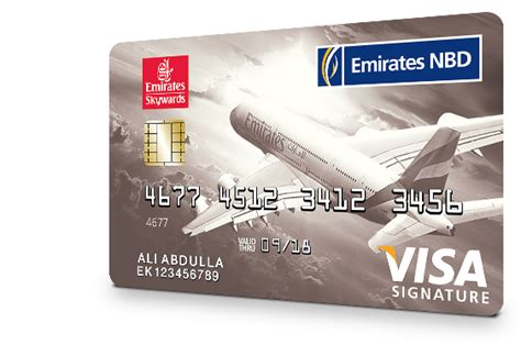 emirates platinum card skywards signature card credit cards priority banking