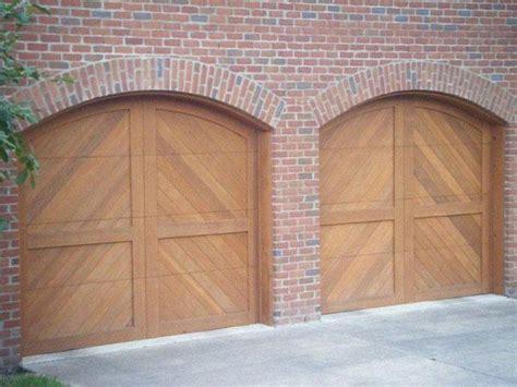 riviera spanish style custom wood garage door lux