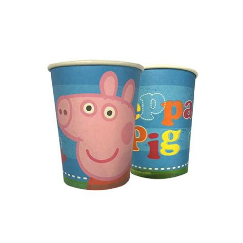 peppa pig piatti e bicchieri bicchieri peppa pig festa compleanno bambini