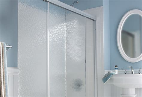 showers with doors choosing the right shower door at the home depot