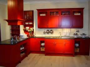 Black And Red Kitchen Ideas by Red And Black Kitchen Decorating Ideas Home Design Ideas