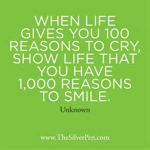 1 000 reasons to smile the silver pen