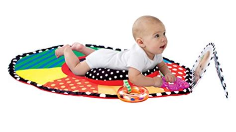 Sassy Tummy Time Mat by Sassy Tummy Time Mat Baby Toddler Baby Toys Play Mats Gyms