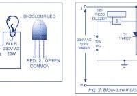 blown fuse indicator led circuit blown fuse indicator circuit diagram
