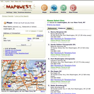 yahoo printable driving directions exclusive mapquest plays catch up with launch of beta